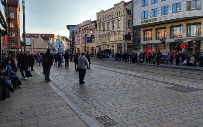 Spontan in Schwerin