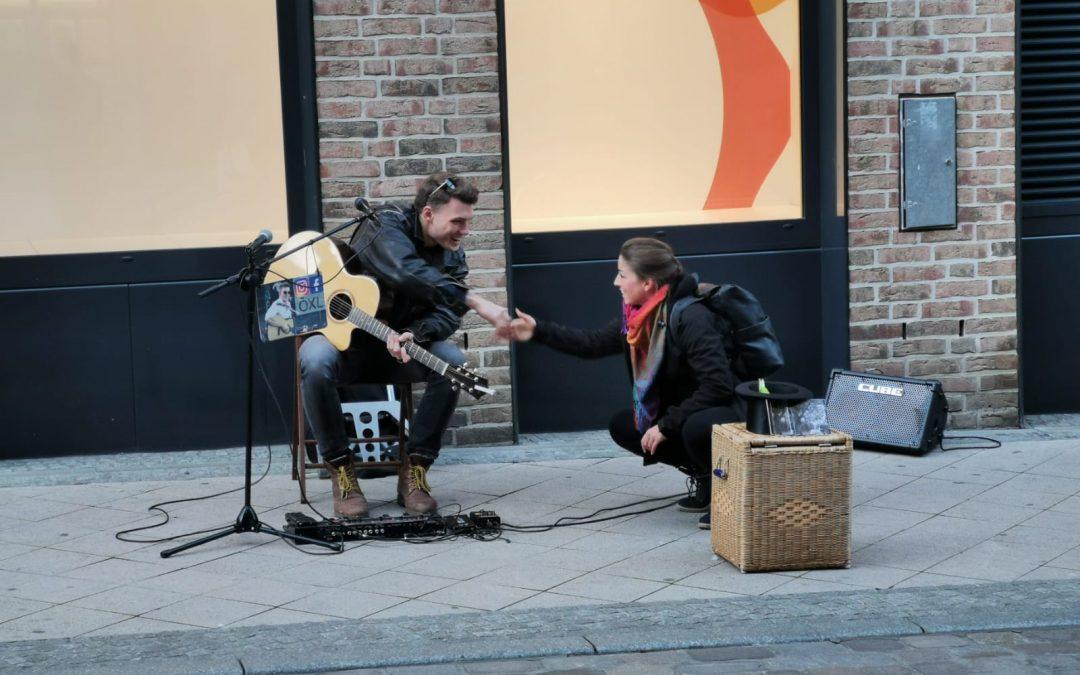Endlich wieder Straßenmusik